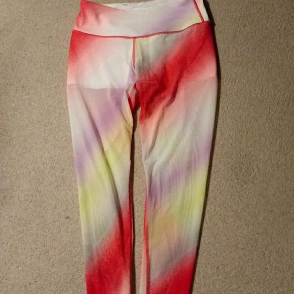 5c4218ede6ea0 Victoria's Secret Pants | Victoria Sport Cali Haze Rainbow Leggings ...